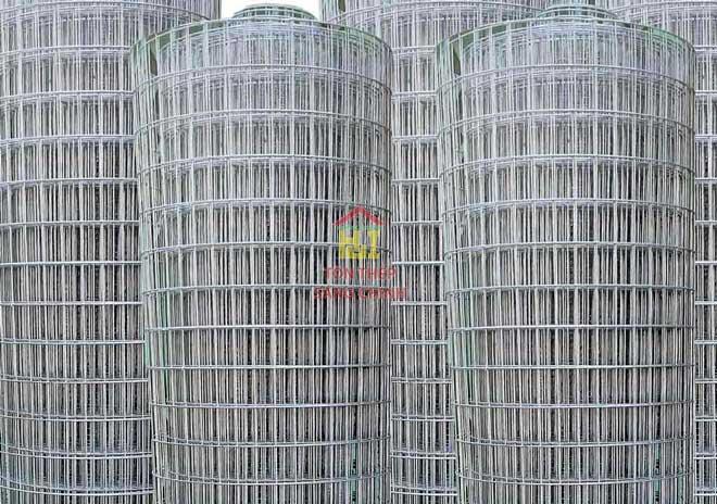 Lưới hàn dạng cuộn, lưới hàn nhúng kẽm - Lưới thép hàn