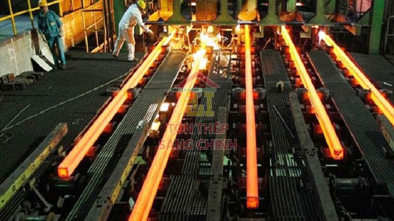 Các nhà máy thép ở miền nam