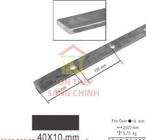 Sắt la trơn 40x10mm